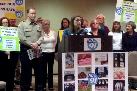 Moms Against 91 held a press conference in  on Friday, October 17, in Oswego Lake