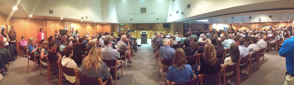 Wheat Ridge city council meeting, September 22.  Photo, courtesy of Healthy Colorado Kids.