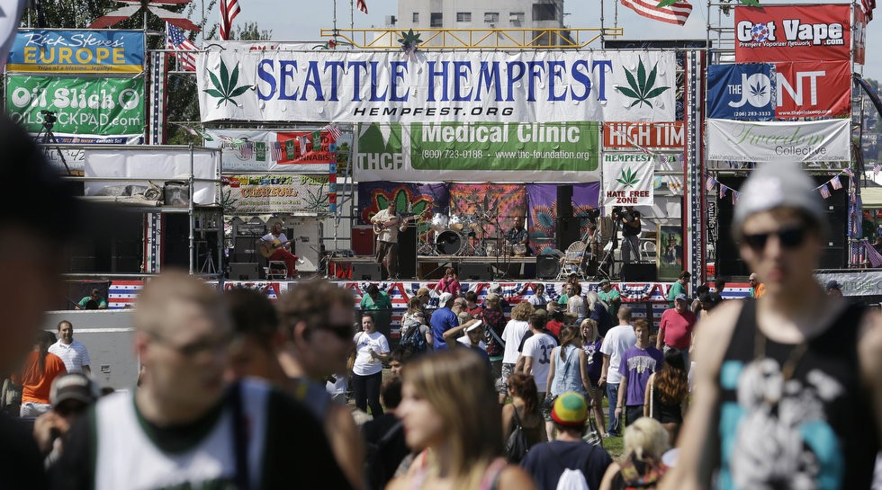 Held since 1991, Seattle's Hempfest attracts 100,000 each year to celebrate and worship a psychoactive plant which can cause psychosis.