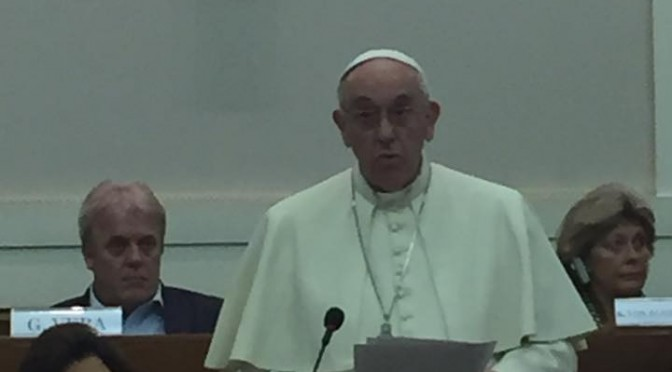 Pope Francis I Calls Worldwide Summit to Address Drugs