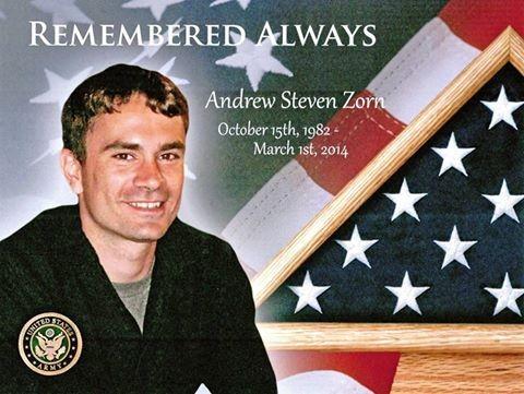 Remember Andy Zorn: My Son's Killer