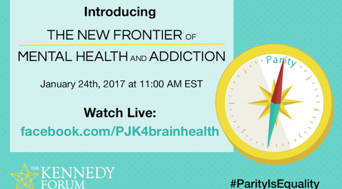 Patrick Kennedy Pushes Mental Health and Addiction Parity