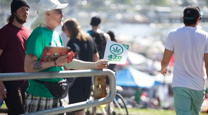 420 Event in Vancouver Disastrous
