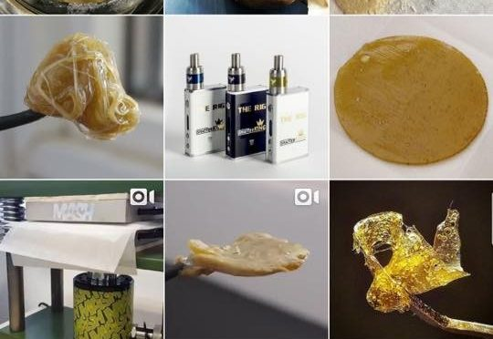 Marijuana Crack Weed Advertised on Instagram