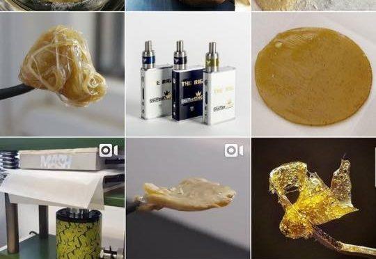 Marijuana Crack Weed Advertised on Instagram