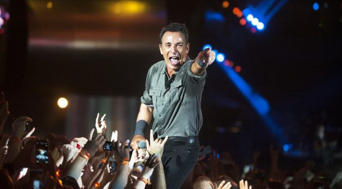 """New Jersey's Springsteen Has secret to being """"The Boss"""": No pot or drugs"""