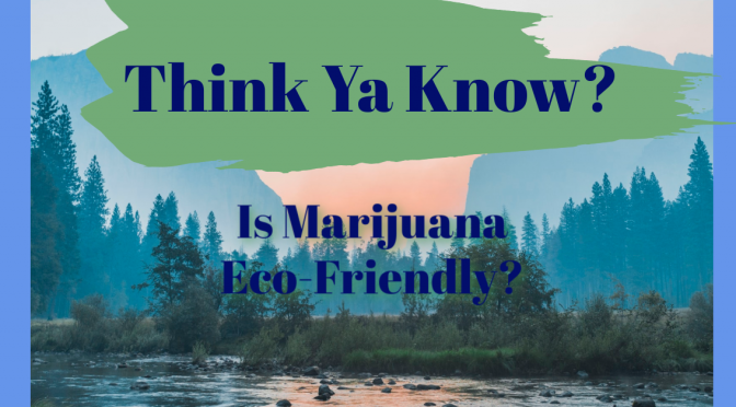 Is Marijuana eco-friendly?